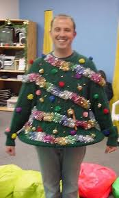 20 People Who Really Owned The Whole DIY Thing This Christmas Ugly Christmas Sweater Craft Ideas