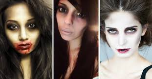 glam zombie makeup inspiration