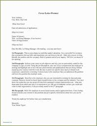 Opening Of Cover Letter Cover Letter Format Spacing Sample Margins For Attention