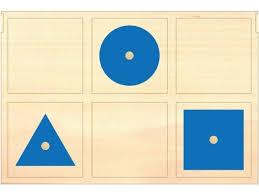 Geometric Cabinet Control Chart Furniture Montessori Geometric Cabinet And Presentation Tray