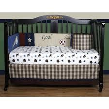 baby boy sports crib bedding football bed divine vintage themed