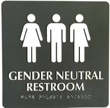 bathrooms signs. A Restroom Pictogram That Sends The Wrong Message Bathrooms Signs