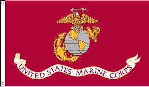 marine corps us made high wind flag 3