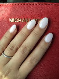 Light Pink And White Nail Designs Perfect For Valentines Day Baby Pink Round Nails White