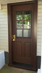replacement fiberglass entry door