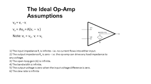 the ideal op amp assumptions