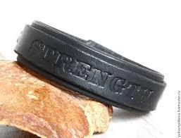 bracelets handmade livemaster handmade personalized leather bracelet text name bracelet