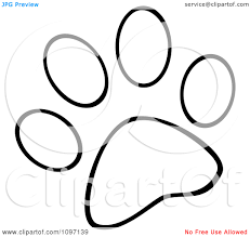 Small Picture Paw Print Template Virtrencom
