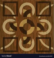 Wood Inlay Patterns Simple Wooden Inlay Light And Dark Wood Patterns Veneer Vector Image
