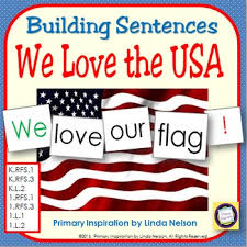 Where To Buy Pocket Charts Sentence Building Activities Patriotic Usa Pocket Chart Activities