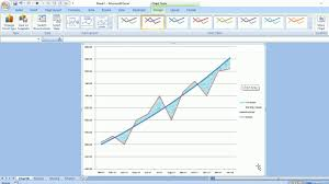 Excel Chart Shaded Band Shading Areas On A Chart To Highlight Gaps And Variances