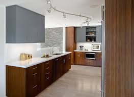 modern track lighting kitchen contemporary with grey cabinets kitchen hardware image by koch architects inc joanne koch