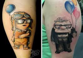 Série Fantastických Tetování Ze Světa Walt Disney Vás Ohromí Svou