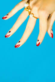 Tutorial Thursday Negative Space Nails One Nail To Rule Them. Nail ...