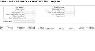 Loan Zation Table Excel Payoff Template Schedule Download With Extra