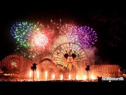 [HD] World of Color New Year's Eve Fireworks from VIP Section - California  Adventure Fireworks