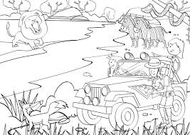 Small Picture Safari Coloring Pages To And Print For adult