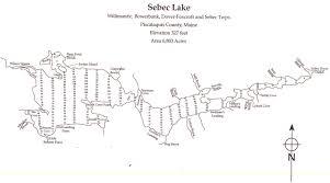 Sebec Lake Recreation Swimming Boating Fishing Sebec