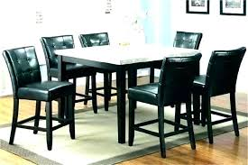 high dining table ikea round set image of top black