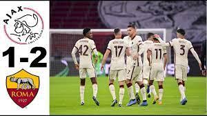 Ajax vs Roma - Europa League 20/21 Highlights - YouTube