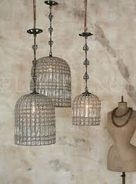 antique reion birdcage chandelier 3 sizes dasan