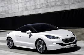 First Photos of 2013 Peugeot RCZ Coupe Facelift