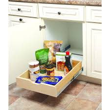 Real Wood Kitchen Storage