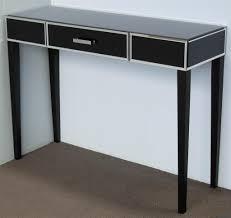 black hallway table black console table nz luca savannah wire side table black