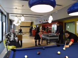 google office switzerland. Awesome Space Office Design With Creative Décor: And Modern Google Switzerland Office. « S
