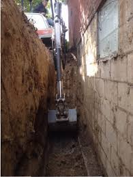 french drain cost. Delighful Drain A French Drain Is A Trench Used To Direct Surface Groundwater Away From  Cer  For Drain Cost C