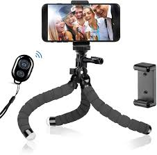 <b>Phone</b> Tripod Metal <b>Flexible Tripod</b> with Bluetooth: Amazon.co.uk ...