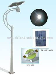 Solar Powered Led Street Light With Auto Intensity Control Solar Power Led Street Light
