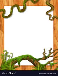 Wine Border Template Border Template With Vine And Leaves Royalty Free Vector
