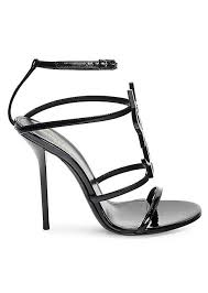 patent leather sandals exclusive