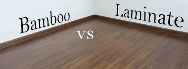 bamboo vs laminate