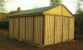 pallet shed how i built it free or shed from recycled pallets diy garage storage part 2