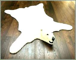 faux animal skin rugs canada