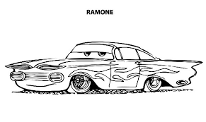 Small Picture Disney Cars Ramone Lowrider Cars Coloring Pages Download Print