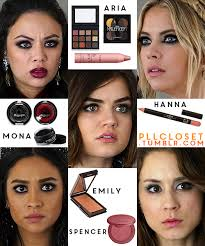 since you guys seem to love beauty posts here s some of the s makeup artist cindy miguens used for the liars prom looks in 6x09 6x10