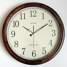 Vintage Large Decorative Wall Clocks Home Decor Wood <b>European</b> ...