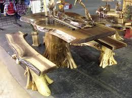Rustic Log Table Rustic Log Cabin Furniture Cedar Log Furniture