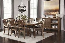 ashley furniture dining room set. ashley furniture tamilo 9 piece pine look rect dining table ext set d714 room b