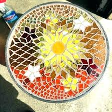 diy mosaic table mosaic tabletop patio heater beautiful mosaic table top mosaic top table tile round