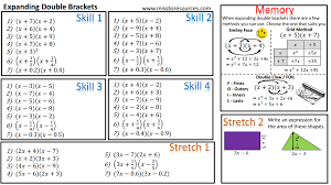 Awesome Collection of Algebra Expand And Simplify Worksheets With ...