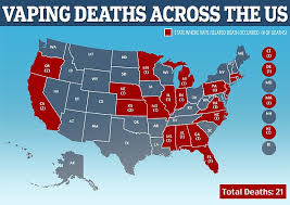 Dead And Breakfast Suspect Chart Answers Us Vaping Death Toll Rises To 21 With Massachusettss First
