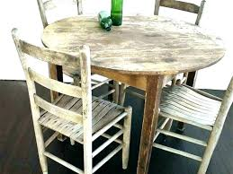 distressed round dining table and chairs wood kitchen table round distressed wood kitchen tables distressed round