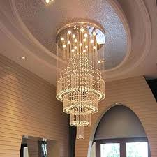 raindrop crystal chandelier floating castle raindrop crystal chandelier double layer entry modern crystal ball chandelier raindrop