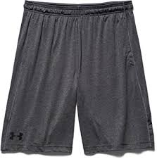 under armour shorts. under armour men\u0027s raid 8-inch shorts - grey, x-small