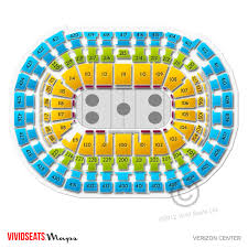 Verizon Center Seating Chart Capitals 52 Genuine Washington Capitals Arena Map
