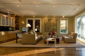family room lighting. Image By: Nora Schneider Interior Design Family Room Lighting